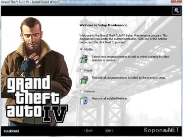 Grand Theft Auto 4 (2008/MULTI5/Full/ENG Repack) + Русификатор