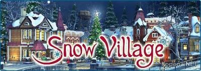 Snow Village 3D Screensaver v1.1.0.2