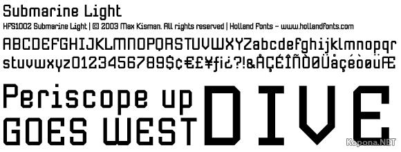 Holland Fonts Quickstep Sans Bold Commercial Font