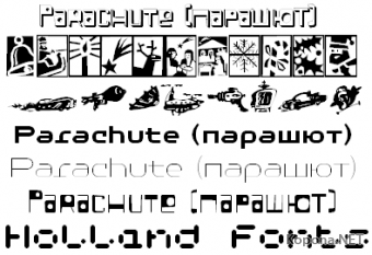0day Fonts Pack by TYPO *01.07.2009*