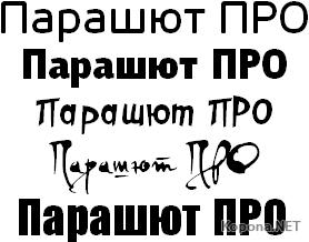 Parachute Pro 05.07.2009 Commercial Fonts *TYPO*