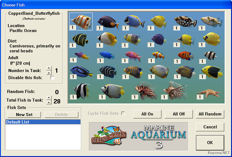 SereneScreen Marine aquarium 3.1.5633 Free Download | 3MB - mediafire