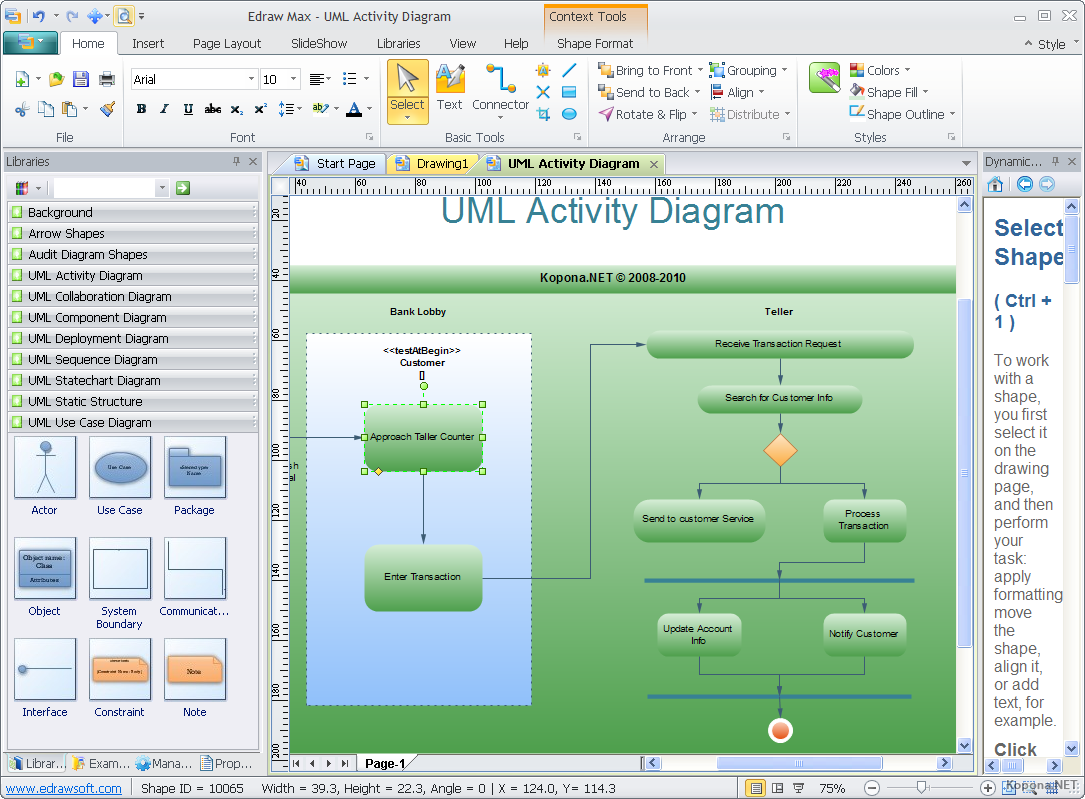Flowchart Software for Mac Windows and Linux  Edraw Max