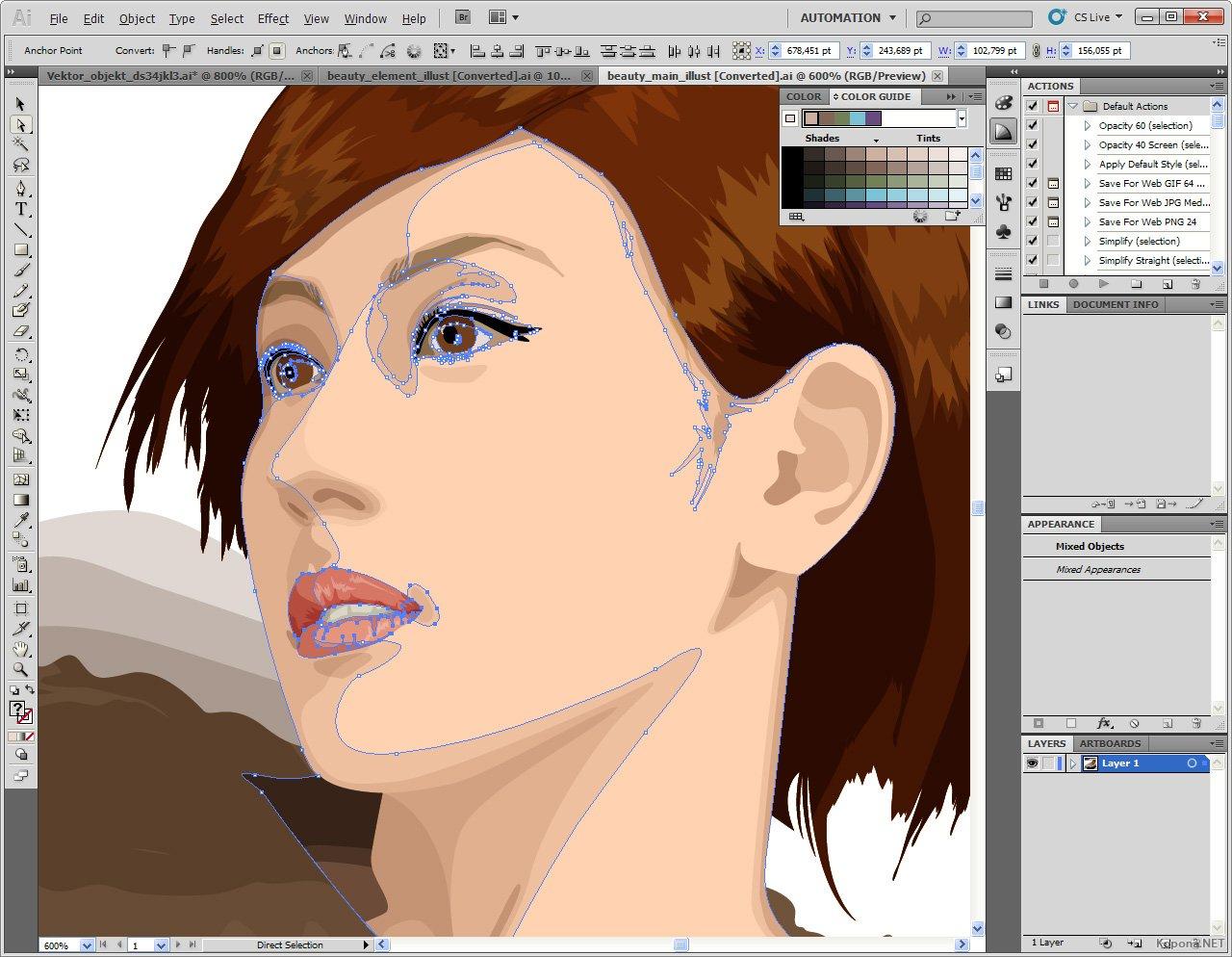 иллюстратор как рисовать в векторе
