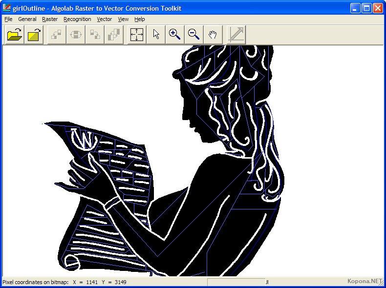 R2V Raster to Vector Conversion Software for CAD/CAM ...
