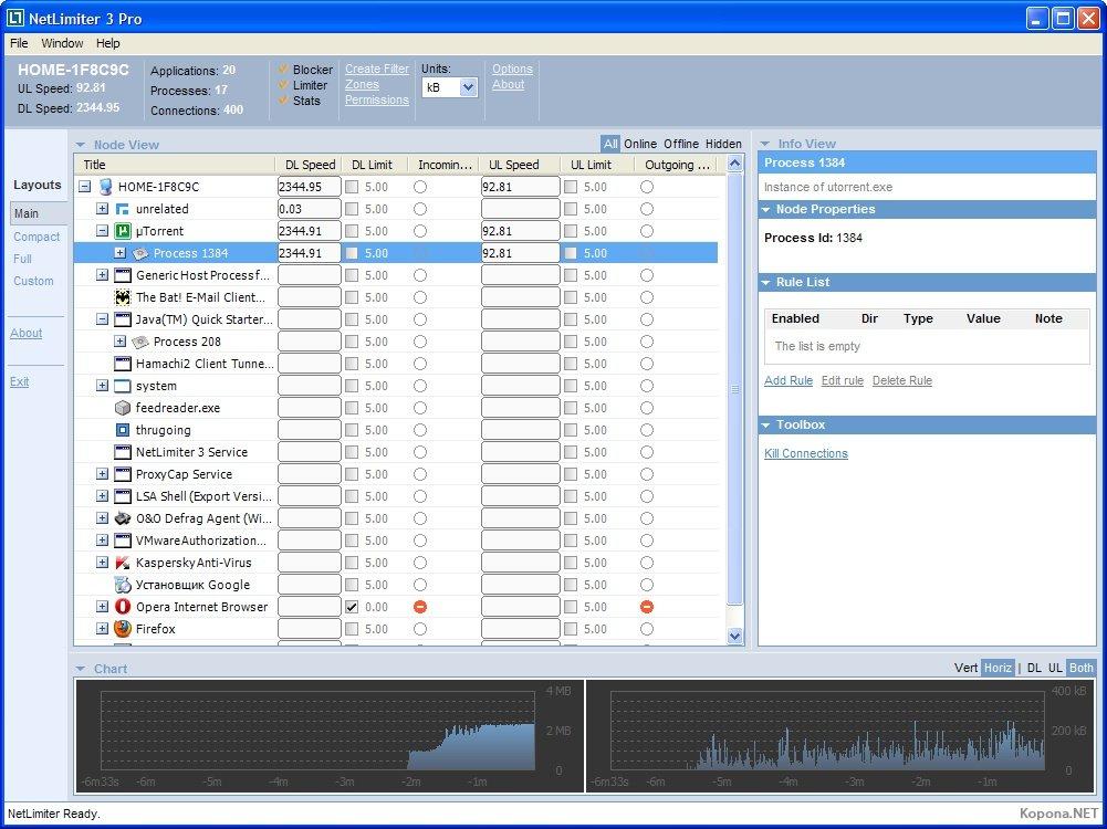 Скачать NetLimiter.3.Pro.v3.0.0.11-DOA с letitbit.net Одним файлом.