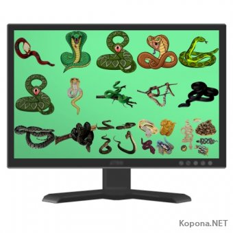 Символ 2013 года - Года Змеи - 02 (PNG)
