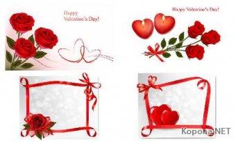 Фоны ко Дню всех Влюблённых - 16 (EPS)