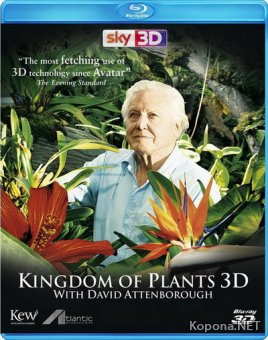 Царство растений / Kingdom of Plants (2012) Blu-ray [3D, 2D] + BDRip 1080p [3D, 2D] / 720p + HDRip