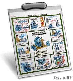 Сборник плакатов по Технике Безопасности (ТБ) - (JPG)