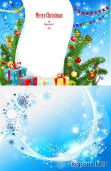 Новый год - Рождество - 02 (EPS)