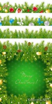 Новый год - Рождество - 03 (EPS)