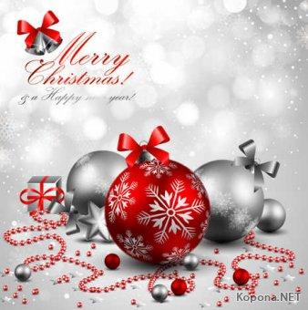 Новый год - Рождество - 04 (EPS)