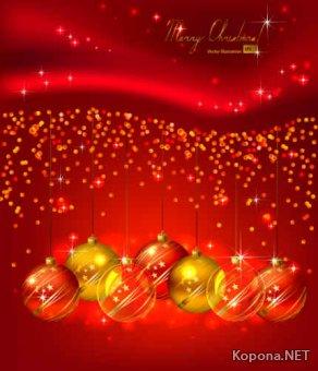Новый год - Рождество - 06 (EPS)