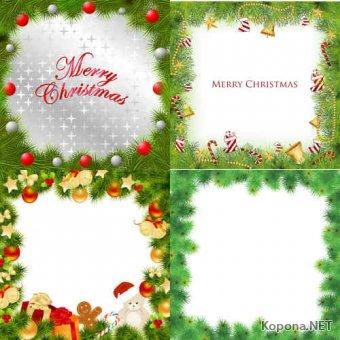 Новый год - Рождество - 09 (EPS)