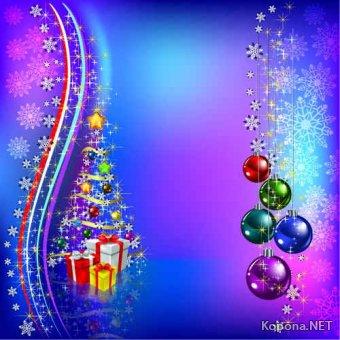 Новый год - Рождество - 10 (EPS)