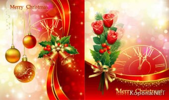 Новый год - Рождество - 13 (EPS)