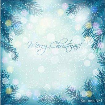 Новый год - Рождество - 15 (Ai, EPS)
