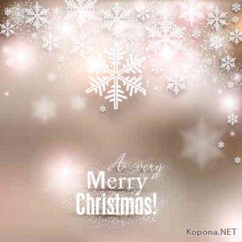 Новый год - Рождество - 18 (Ai, EPS)