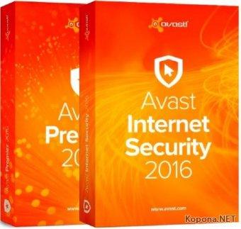 Avast!! Internet Security / Premier 2016 11.1.2253.1653 Final