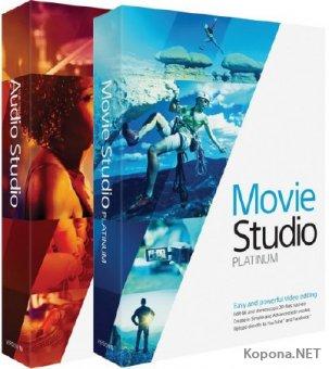 MAGIX Movie Studio Platinum 13.0 Build 960 / Sound Forge Audio Studio 10.0 Build 283