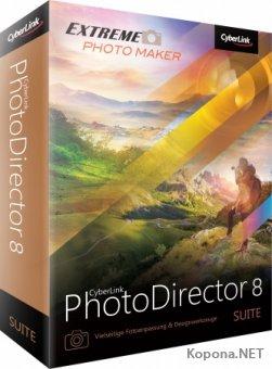 CyberLink PhotoDirector Suite 8.0.2031.0 + Rus