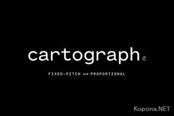 Шрифт Cartograph CF
