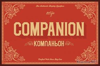 Шрифт Companion