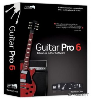 Arobas Guitar Pro v.6.2.0 r11686 + Portable + Soundbanks