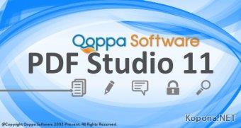 Qoppa PDF Studio Pro 11.0.4 + Portable
