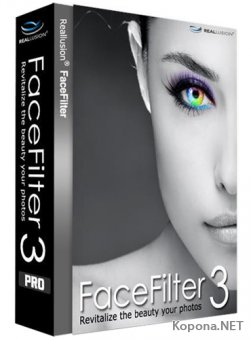 Reallusion FaceFilter 3.02.2713.1 SE + Portable + Bonus Pack