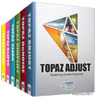Topaz Labs Photoshop Plugins Bundle 2017 (19.01.2017)