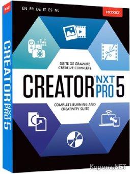 Roxio Creator NXT Pro 5 v.18.0.46.2 + Content