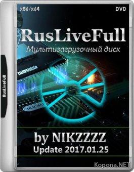 RusLiveFull by NIKZZZZ DVD Update 2017.01.25 (RUS/ENG)
