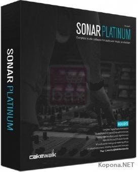 Cakewalk SONAR Platinum 23.1.0 Build 32 + Plugins + Content
