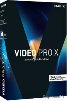 MAGIX Video Pro X8 15.0.3.138 RePack by PooShock
