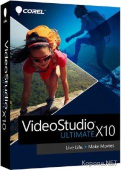 Corel VideoStudio Ultimate X10 20.0.0.137 (x64) RePack by PooShock