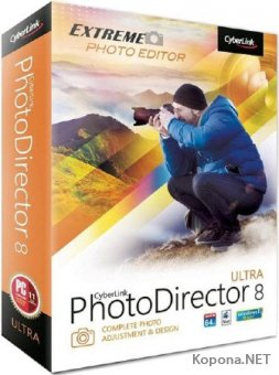 CyberLink PhotoDirector 8 Ultra 8.0.2303.4 RePack by PooShock