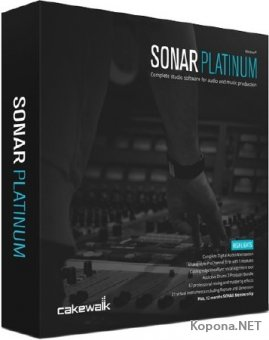 Cakewalk SONAR Platinum 23.4.0.38 + Plugins