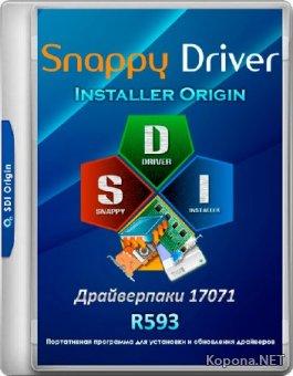 Snappy Driver Installer Origin R593 / Драйверпаки 17071 (MULTi/RUS/2017)