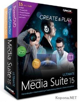 CyberLink Media Suite Ultimate 15.0.0512.0