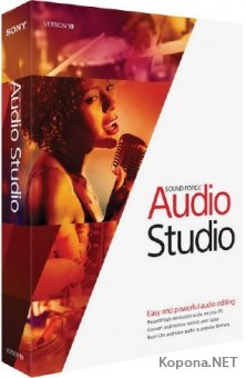 MAGIX Sound Forge Audio Studio 10.0 Build 319