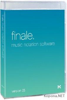 MakeMusic Finale 25.4.1.152 + Rus