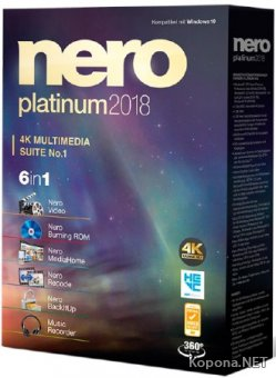 Nero Platinum 2018 Suite 19.0.07000 + Content Pack