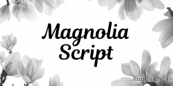 Шрифт Magnolia Script (OTF)