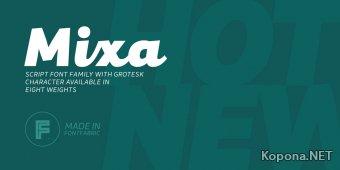 Шрифт Mixa (TTF)
