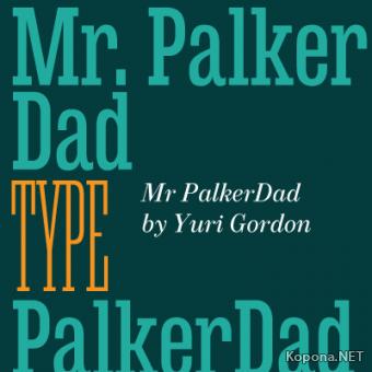Шрифт MrPalkerDadCond (OTF)