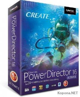 CyberLink PowerDirector Ultimate 16.0.2101.0 RePack by PooShock