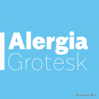 Шрифты семейства Alergia (OTF)