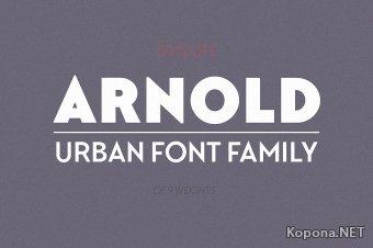 Шрифты семейства Arnold (OTF)